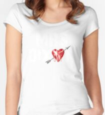 Mrs Dixon? Women's Fitted Scoop T-Shirt