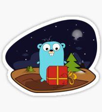 Golang – go gift Sticker
