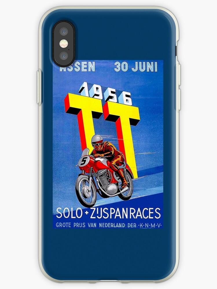 """""""ASSEN TT MOTORCYCLE"""" Vintage Racing Advertising Print by posterbobs"""