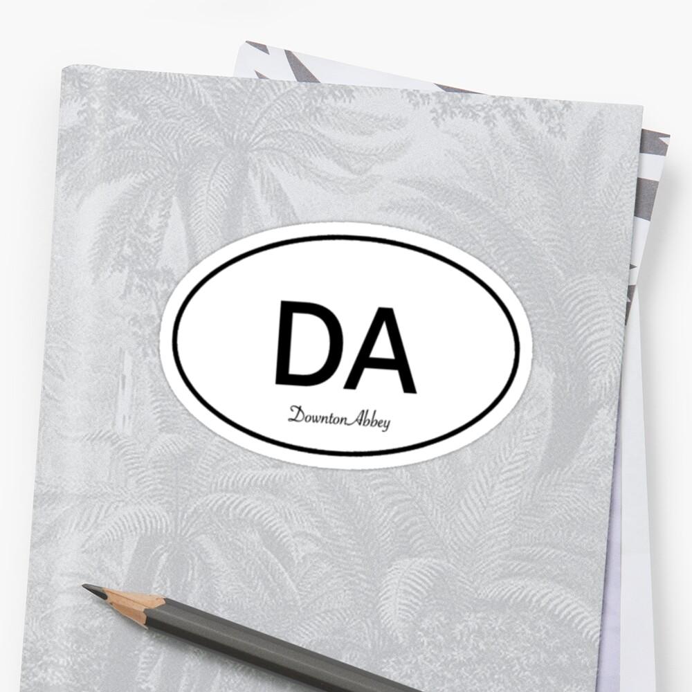 Downton Abbey Euro sticker by ginamitch