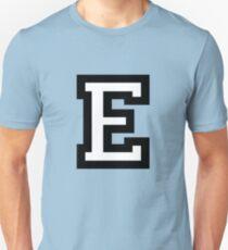 Letter E two-color T-Shirt