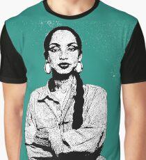 SADE Braided  Graphic T-Shirt