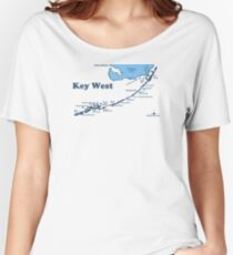 Key West.  Women's Relaxed Fit T-Shirt
