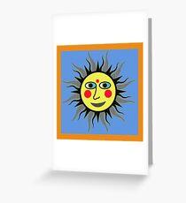 SUNNY LISA SMILES Greeting Card