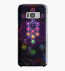 Kabbalah Tree of Life with Astrological Backdrop  Samsung Galaxy Case/Skin