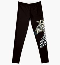 Ehlers Danlos Syndrome Zebra Leggings