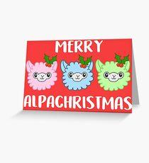 Merry Alpachristmas! Greeting Card