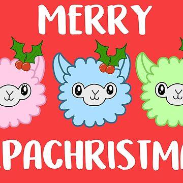 Merry Alpachristmas! by SCRALEOS