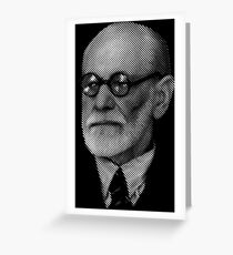 Sigmund  Freud Greeting Card