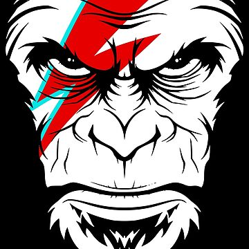The Face Of New Wave Monkey by rkksrnsn