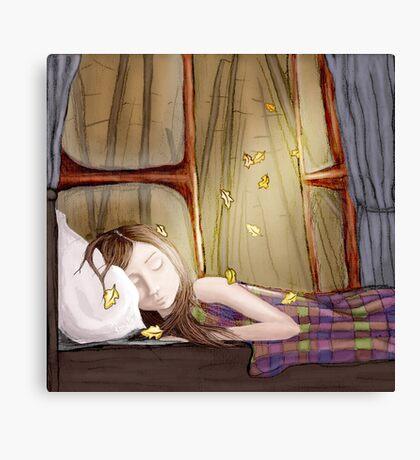 I wish it would rain autumn again  Canvas Print