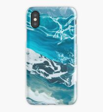 Abstract sea iPhone Case