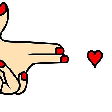 Hand Shoot Love by rkksrnsn