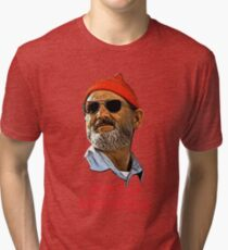 BILL MURRAY CHRISTMAS Tri-blend T-Shirt