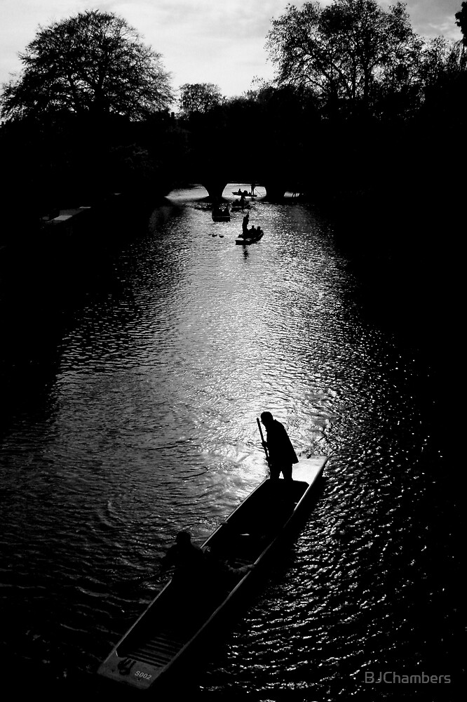 Dusk Punting by BJChambers