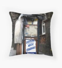 whose standards Throw Pillow
