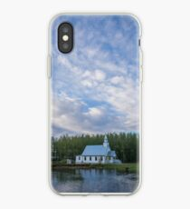 Clouds over Hope Valley iPhone Case