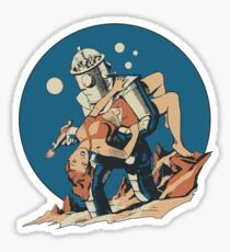 Damsel in Space Sticker
