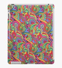 Colorful Psychedelic Paisley Pattern iPad Case/Skin