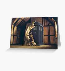 All the Time and Space Between Spaces Greeting Card