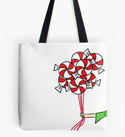 Candy Balloons Tote Bag