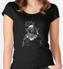 Deep Sea Women's Fitted Scoop T-Shirt