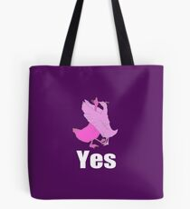 Yes! Goose in Love Tote Bag
