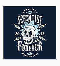 Scientist Forever Photographic Print