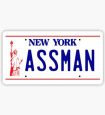 ASSMAN Sticker