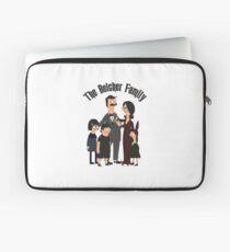 The Belcher Family Addams Family Inspired Parody Laptop Sleeve