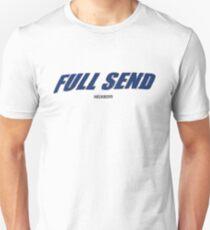 FULL SEND NelkBoys Blue Text T-Shirt