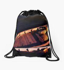 Boatman from Hoi An Drawstring Bag