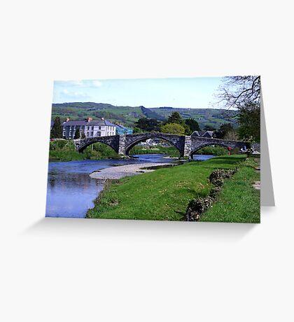Y Bont Fawr - Llanrwst Bridge -Snowdonia Greeting Card