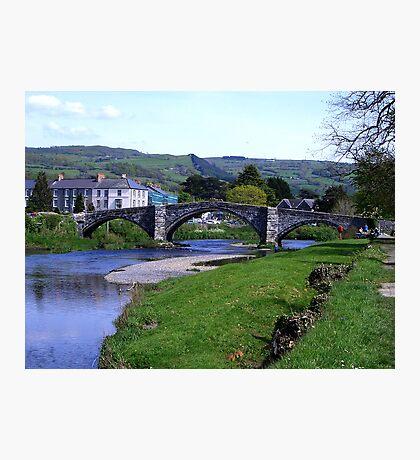 Y Bont Fawr - Llanrwst Bridge -Snowdonia Photographic Print