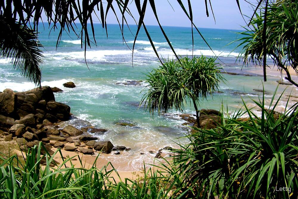 Galle Sri Lanka Beach View by Letty