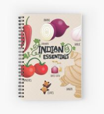 Indian Essentials Spiral Notebook