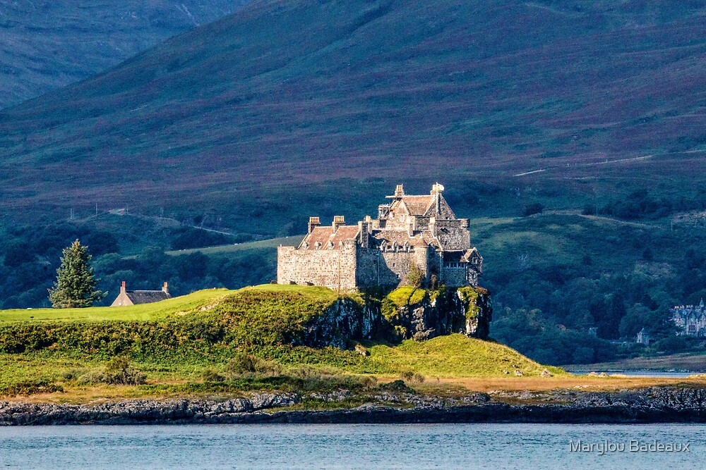 Duart Castle by Marylou Badeaux