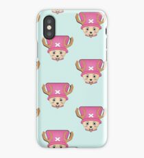 One Piece chopper charcter T-shirt | redbubble iPhone Case/Skin