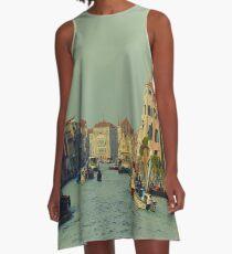 Venice, Grand Canal A-Line Dress