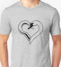 Captain Swan heart Unisex T-Shirt