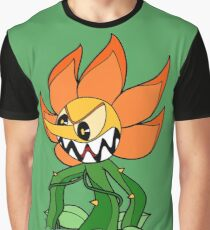 Cuphead - Cagney Carnation Graphic T-Shirt