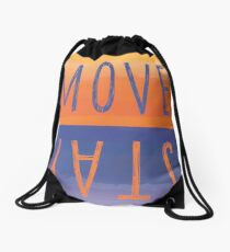 Move or Stay Camp Locations? Drawstring Bag