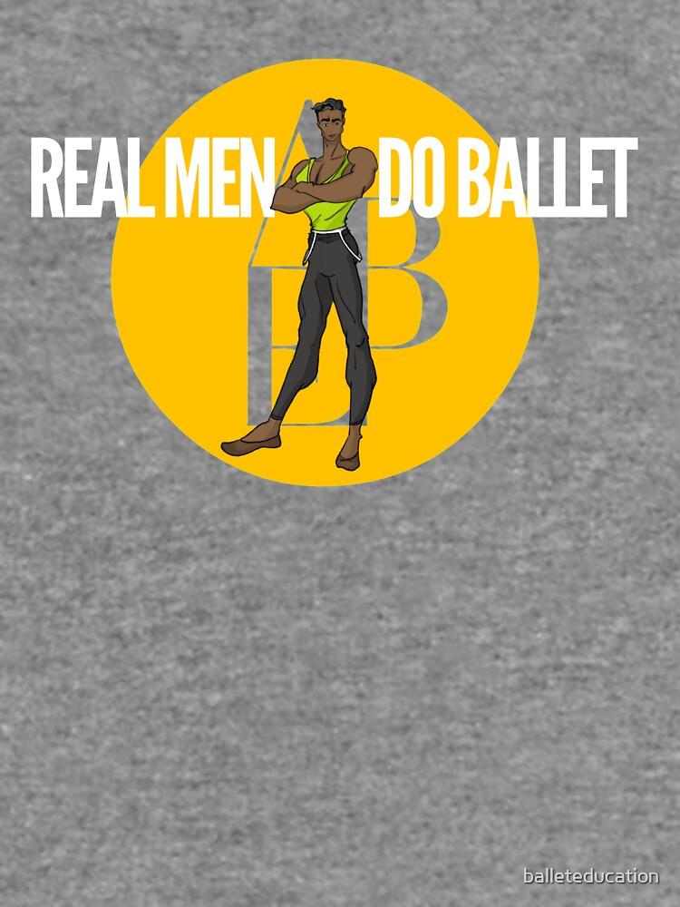 Real Men Do Ballet 3 by balleteducation