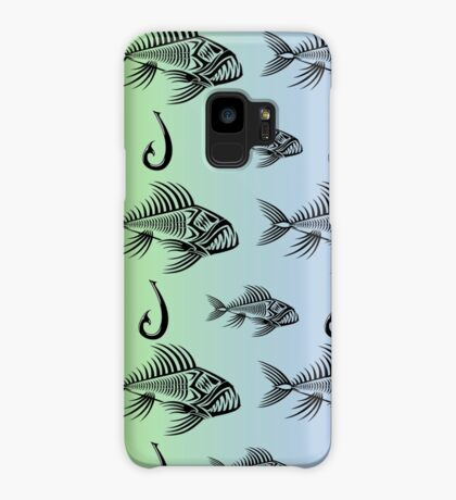 Fish and Hook Case/Skin for Samsung Galaxy