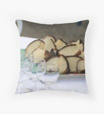Torteaux is Served Throw Pillow