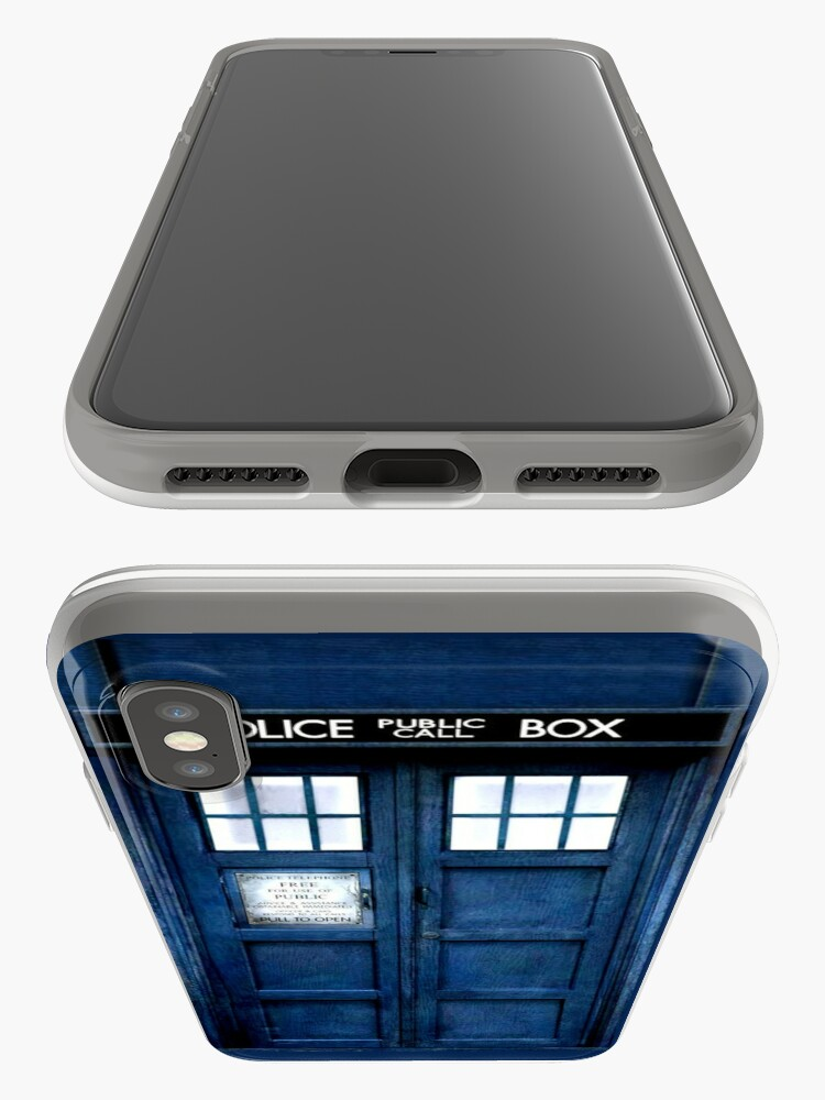Alternative Ansicht von Doktor Who Tardis Telefon-Kasten iPhone-Hüllen & Cover