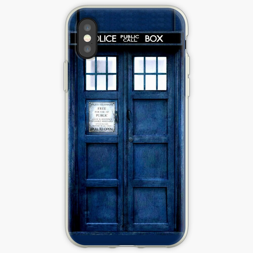 Doktor Who Tardis Telefon-Kasten iPhone-Hüllen & Cover