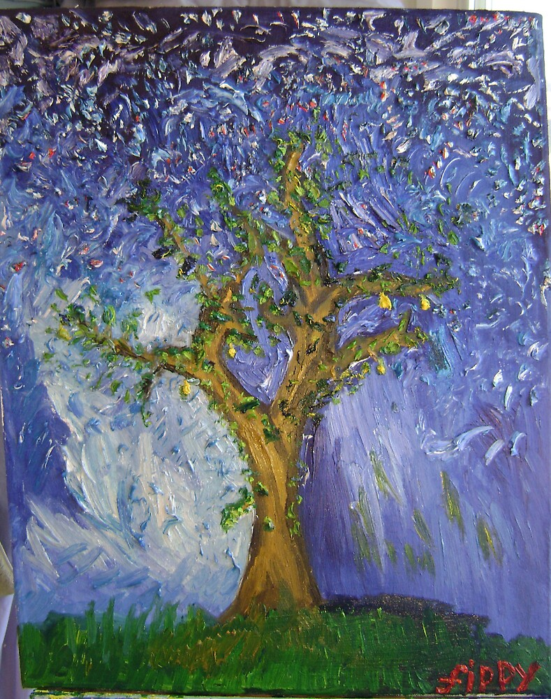 Brighton Pear Tree by fippypopulosa
