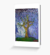 Brighton Pear Tree Greeting Card