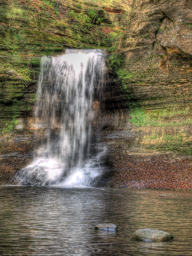 State Park HDR Series - Matthiessen State Park - Cascade Falls by JThill